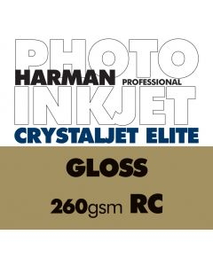 HARMAN CRYSTALJET ELITE 260gsm Gloss Sheets